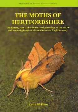 Moths of Hertfordshire cover