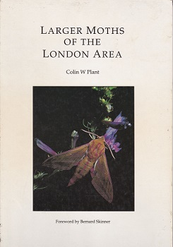 Larger Moths of the London Area cover